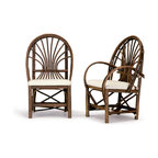 Rustic Side Chair #1044, Arm Chair #1046 by La Lune Collection - Rustic Side Chair #1044, Arm Chair #1046 by La Lune Collection