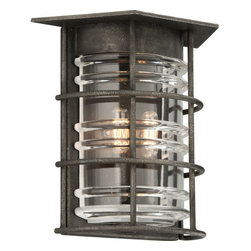 Troy Lighting - Troy Lighting B3792 Brunswick 2 Light Flush Mount Wall Sconce - Features: