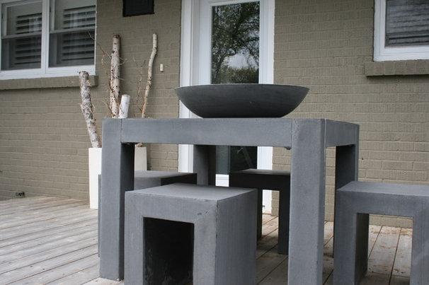Contemporary Deck by Ieteke