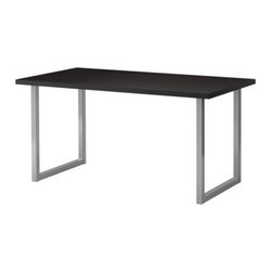Johanna Jelinek/IKEA of Sweden - VIKA AMON/VIKA MOLIDEN Table - Table, black-brown