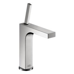 Axor - Hansgrohe - Axor Citterio Single Hole Faucet - 39031001 - Chrome - Antonio Citterio pays tribute to the element of water with a particularly elegant, minimalist collection. Axor Citterio lets us truly enjoy the time we spend in the bathroom. With his most precisely formed surfaces and edges and his beautiful details, the richness of which becomes clear on a second glance. In a bathroom in which living and rejuvenation are intentionally cultivated.
