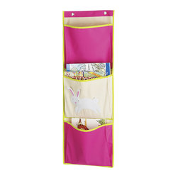 Whitmor - Bunny Over-the-Door Pocket Organizer - Featuring sturdy canvas for years of use and an adorable design, this kid-friendly organizer adds instant storage to the play area. It's roomy enough to hold plenty of books, magazines and more.   14'' W x 40'' H Canvas Imported
