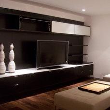 Storage Units And Cabinets by Elizabeth Tuachi Diseño de interiores