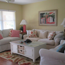 Beach Style Living Room by beauty and the beach