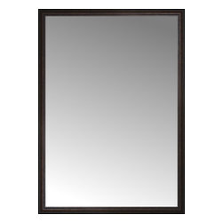"""Posters 2 Prints, LLC - 48"""" x 67"""" Tuscany Embossed Custom Framed Mirror - 48"""" x 67"""" Custom Framed Mirror made by Posters 2 Prints. Standard glass with unrivaled selection of crafted mirror frames.  Protected with category II safety backing to keep glass fragments together should the mirror be accidentally broken.  Safe arrival guaranteed.  Made in the United States of America"""