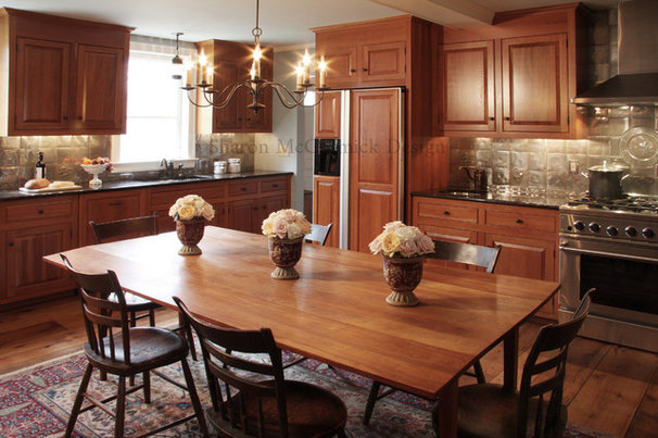 Traditional Kitchen by Sharon McCormick Design