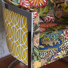 Contemporary Living Room Chairs by Kim Armstrong