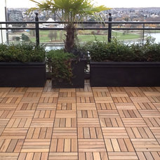 Contemporary Exterior by KANDY Outdoor Flooring