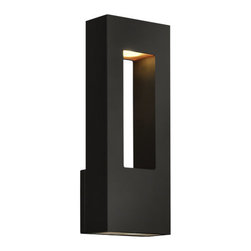 """Hinkley Lighting - Hinkley Lighting 1648-LED 16"""" Height ADA Compliant Dark Sky LED Outdoor Wall Sco - 16"""" Height ADA Compliant LED Dark Sky Outdoor Wall Sconce from the Atlantis CollectionFeatures:"""