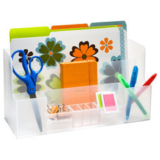 Contemporary Desk Accessories by The Container Store