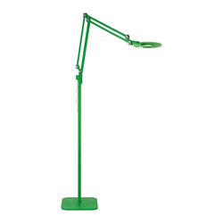 Pablo Designs - Link Floor Lamp in Green - Features: