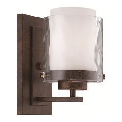 Craftmade - Craftmade Kenswick Indoor Lighting with Peruvian Bronze X-RP-10453 - 1 LIGHT WALL SCONCE