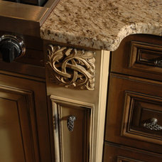 Traditional Kitchen Drawer Organizers by Hask Custom Homes