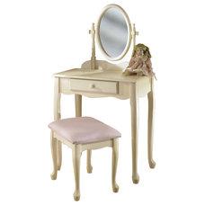 Transitional Bedroom & Makeup Vanities by ADARN INC.