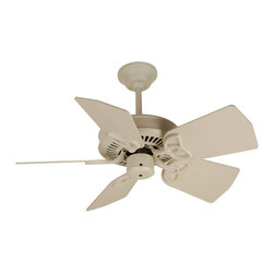 Craftmade - PI30OB Oiled Bronze Piccolo 29 5 Blade Indoor Ceiling Fan with Reversible Motor - Craftmade PI30 30-in Piccolo Ceiling Fan Piccolo ceiling fanthat moves a lot of air. A perfect fit for a closet, the laundry room or even a bath. Great