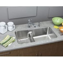 ELKAY MANUFACTURING COMPANY - 33X18-1/2 Double Bowl Undercounter Stainless Steel Sink Gourmet - Product Description  Kitchen Sink by Elkay from the N/A suite Available in Temp Features Elkay Gourmet Undermount Sink Sfl15Sink ELUHAQD32179 UPC: 94902605319 SKU: Elkay ELUHAQD3217 ELUHAQD321 ELUHAQD32 LUHAQD32179 UHAQD32179 HAQD32179 ELUHAQD32179 ELUHAQD3217 ELUHAQD321 ELUHAQD32 LUHAQD32179 UHAQD32179 HAQD32179