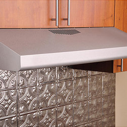 Kobe - KOBE Brillia CHX30 Series 36-inch Under Cabinet Range Hood - Add modern functionality to your kitchen with the KOBE Brillia CHX30 Series stainless steel under cabinet professional range hood. This hood is equipped with a 290 CFM motor,and three-speed mechanical push-button control.