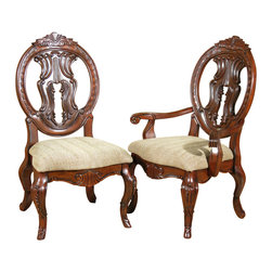 MBW Furniture - Set of 8 Solid Mahogany Victorian Round Back Dining Chairs - This product is finely constructed from top grade kiln-dried solid mahogany. Its superb quality will add a touch of elegance to your home.