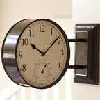 Side-Mounted Station Clock | Pottery Barn -