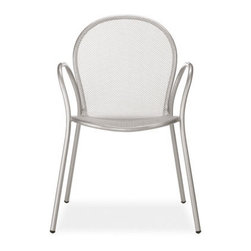Rio Dining Chairs - Designed for comfort and made to last, Rio's steel mesh lends an airy feel to your outdoor dining. Rio has a strong, smooth finish and, best of all, a low price.