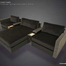 Sectional Sofas by Cineak Custom Home Theater Seats