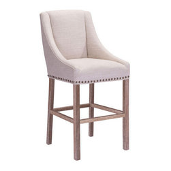 Zuo Modern Indio Bar Chair - Zuo Modern Indio Bar Chair