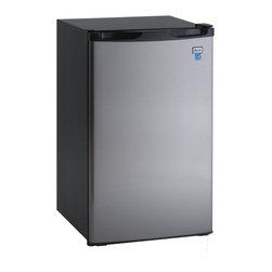 Avanti - Avanti 4.4 Cubic Foot Black With Stainless Steel Door Counterhigh Refrigerator - Avanti 4.4 cubic foot black with stainless steel door counter high refrigerator.