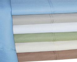 Bed Linens - Cotton Rich 600 Thread Count Solid Duvet Cover Sets King/Cal-King Light Blue - Dress up your bedroom decor with this luxurious 600 thread count Cotton Rich duvet cover sets. A superior blend of materials makes these sheets soft, easy to care for and wrinkle resistant. Each duvet set is made of 55% Cotton and 45% Polyester.
