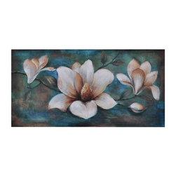 "Spring is in Bloom Wall Art - Spring is in Bloom 60 x 30 x 1.5"""