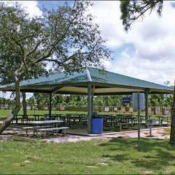 Fifthroom - 30' x 80' All Steel Rectangular Summerset Pavilion -