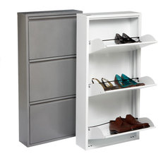 contemporary clothes and shoes organizers by The Container Store