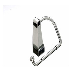 Top Knobs - Top Knobs: Aqua Bath Tissue Hook - Polished Chrome - Top Knobs: Aqua Bath Tissue Hook - Polished Chrome