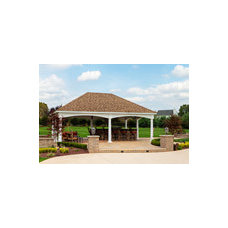 Hampton Pavilions | Wood & Vinyl Pavilions | Country Lane Gazebos