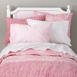 Dream Girl Kid Bedding (Pink) -