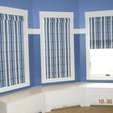 Traditional Roman Blinds by Gotcha Covered