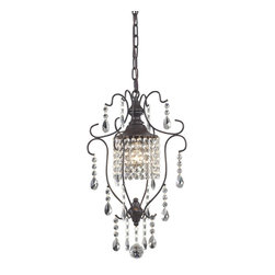 Sterling Industries - Sterling Industries 143-002 Inshes-1Light Mini Pendant Lamp - Pendant (1)