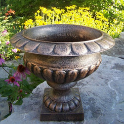 Oakland Living Corp - Oakland Living Grecian 22 in. Urn Planter Multicolor - 5430-AB - Shop for Fire Pits and Fireplaces from Hayneedle.com! Additional FeaturesPerfect for displaying your plants and flowersNo assembly requiredLimited 1-year warranty