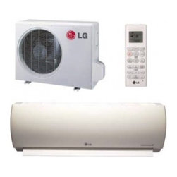 LG - Art Cool Premier LA-090HYV Ultra Efficiency 9000 BTU Cooling 11 000 BTU Heating - LG Art Cool inverter models use a variable speed compressor which is quieter to operate and uses less energy than conventional air conditioners When the selected temperature is reached the inverter compressor operates at low speed to maintain that co...