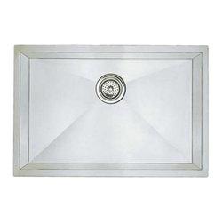 Blanco 515819 Precision Single Bowl Undermount Bar/Kitchen Sink In Satin Polishe -
