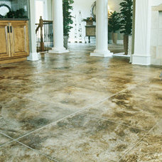 Contemporary Flooring by Absolute Concrete Artisans