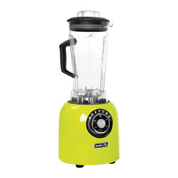 Storebound - Dash Chef Series Blender, Lime - With each preset the motor will automatically turn off when the food is ready and the 6 blade system makes it easy to blend even the toughest foods.
