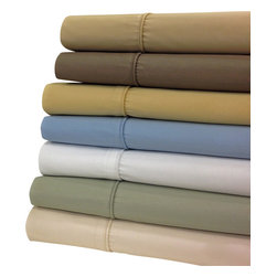 Bed Linens - Wrinkle Free 650 TC Egyptian Cotton Sheet Sets King Gold - Enjoy the best of both worlds, Egyptian cotton comfort blended with the strength and wrinkle free of polyester. This top rated linen was crafted with 70% of long staple Egyptian cotton & 30% of high strength Microfiber Polyester. Enjoy the extended life span of Egyptian cotton comfort without wrinkles.