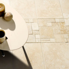 Contemporary Floor Tiles by Marble Systems, Inc.