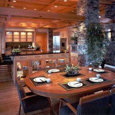 Contemporary Dining Room by Studio 29 - Architecture, Orcas Island, WA