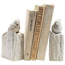 Contemporary Bookends by Amazon