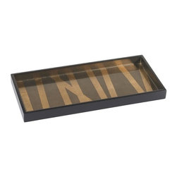 Belle & June - Grass Styx Cocktail Tray - Tray chic. That's what you'll say when you see this elegant grass styx tray. The clean lines and rich, golden palette can highlight your buffet, coffee table or sideboard when not in use.