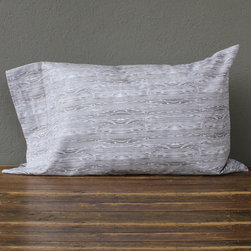 idlewild: driftwood standard pillowcases - pair - view this item on our website for more information + purchasing availability: http://redinfred.com/shop/category/free-shipping/idlewild-driftwood-standard-pillowcases/