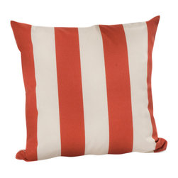 HRh Designs - 20X20 Indoor/Outdoor Throw Pillows, Canyon - 20X20 Indoor/Outdoor Cabana Throw Pillows