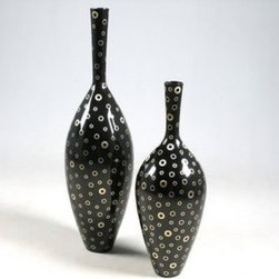 Glow Deco Lacquer Vases - Thes vases are part of our extensive Lacquer Vases Collection.