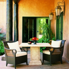 Eclectic Patio Furniture And Outdoor Furniture by Richard Frinier Design Studio